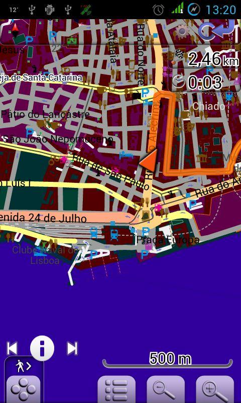 Carte Du Portugal Pour Android