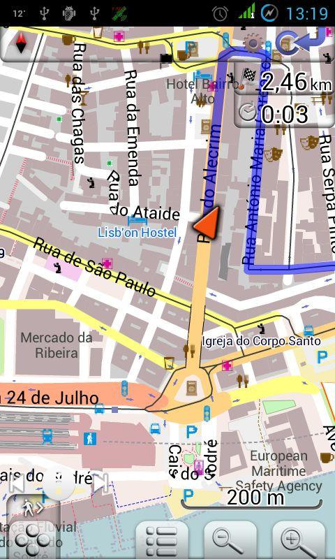 mapa de portugal para android Mapa de Portugal para Android mapa de portugal para android